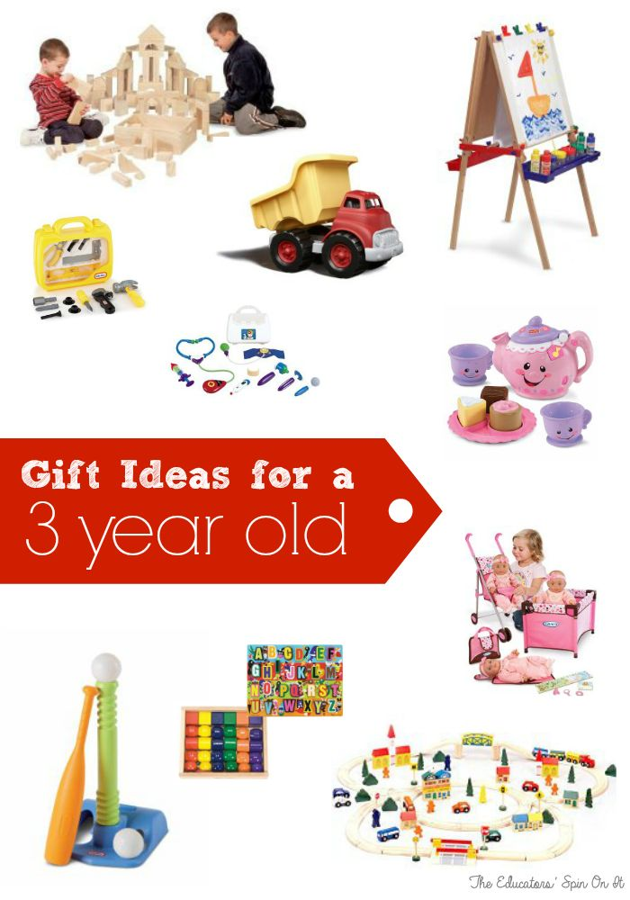 Holiday Gift Ideas for your Three Year Old Includes are variety of option for building, movement, learning imagination and more!