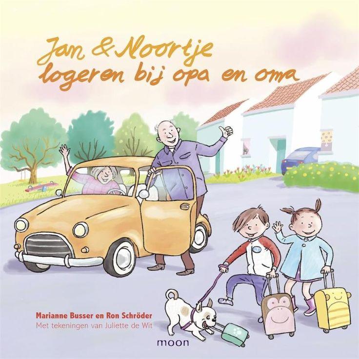 Jan Noortje logeren bij opa en oma (Boek) door Ron Schröder   Literatuurplein.nl