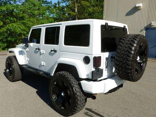 white four door jeep wrangler | 2011 Jeep Wrangler Unlimited Sahara 4-door on 2040cars