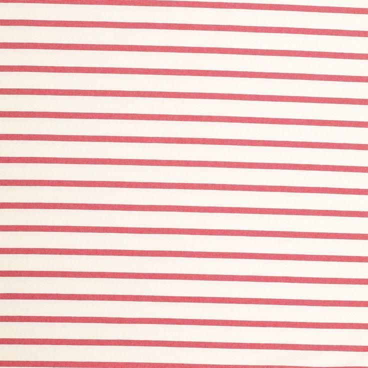 ecru rood bretonse streep punta di roma met stretch