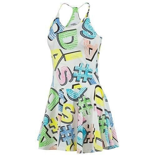 Adidas Jeremy Scott Graphic Summer Beach Dress Skirt Size Medium, XLarge in Clothes, Shoes & Accessories, Women's Clothing, Dresses   eBay