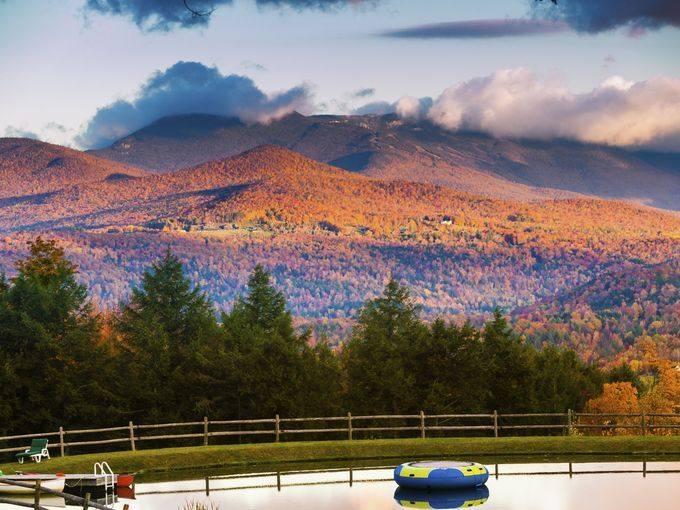 For outdoor enthusiasts, Vermont's Mt. Mansfield near Stowe offers a wealth of seasonal outdoor activities.