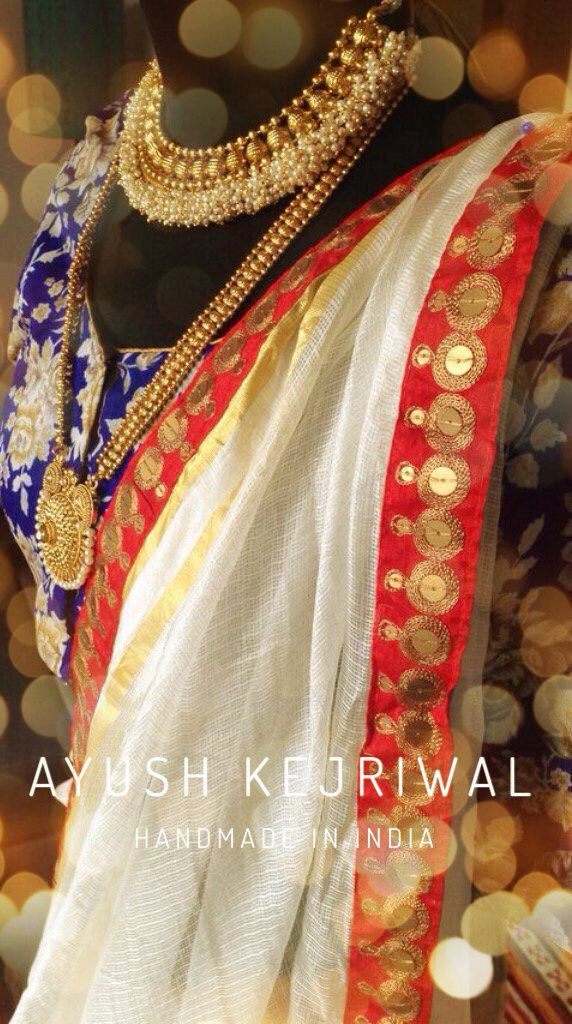 Saree by Ayush Kejriwal For purchases email me at ayushk@hotmail.co.uk or what's app me on 0044784038470