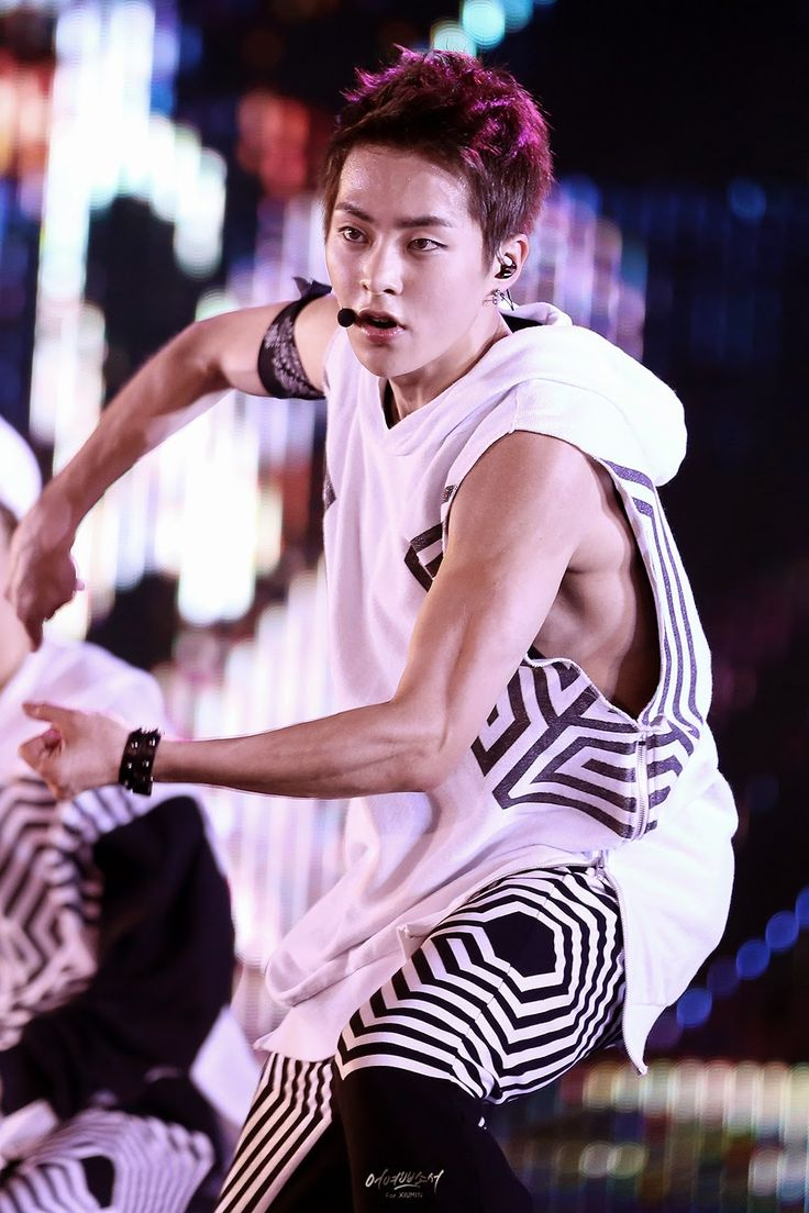 Xiumin muscles