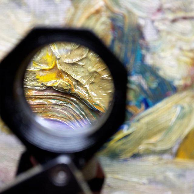 Take a closer look.  #schilderij #artworkoftheday #painting #art #restauratieschilderij #restauratieatelierdriessen #restore #olieverfschilderij #