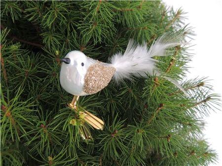 Sapin de Noël alternative: petit arbre de Noël en pot, doré