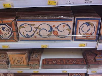 Tiles, typical Andalusian.