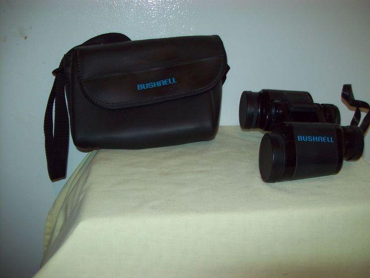 Bushnell Binoculars 7 x 35 487 at 1000 Yds.  w/Soft Case #Bushnell