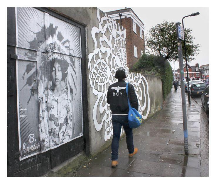 Street Art, Turnpike Lane, London