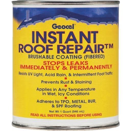 Geocel Corp. Qt Instant Roof Repair GC25200 Unit: QT, Grey metal