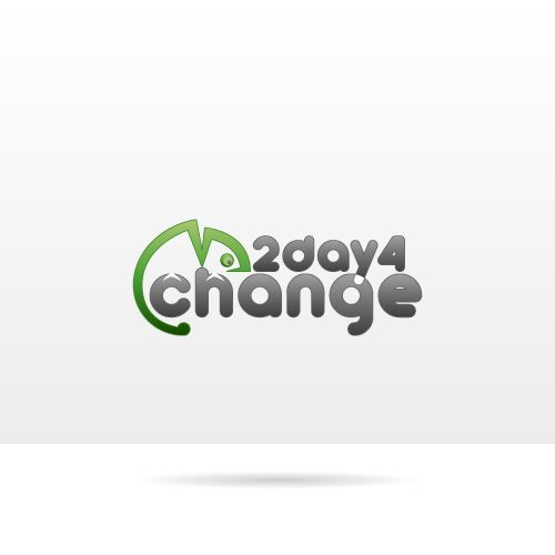 """2D4C 2days4change - Logo created by @NTV Studio for an event incident to """"change"""" and opportunities."""