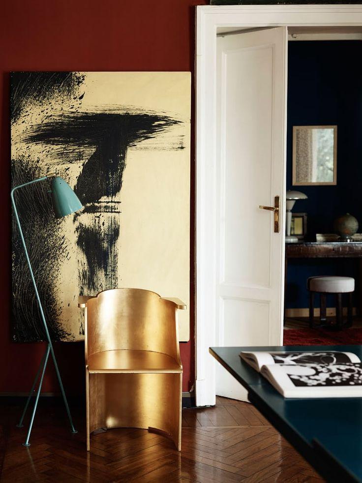 Klassisk design og iøynefallende kunstverk