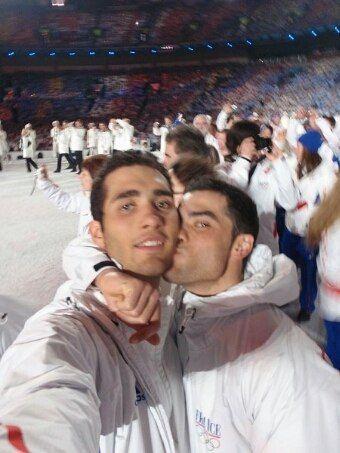 Marten & Simon Fourcade (FRA), biathlon