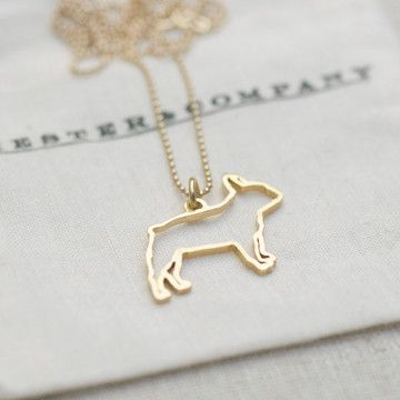 French Bulldog Necklace. Is there a person on the planet that needs this more than me? I think not. Need an English Bulldog one now too :)
