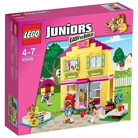 Buy LEGO Juniors 10686 Family House Online at johnlewis.com