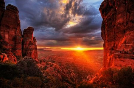 """Sedona, Arizona"".... - Sunsets Wallpaper ID 1283599 - Desktop Nexus Nature"