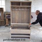 ≥ Garderobekast met Klep of Schappen ! Origineel Steigerhout ! - Woonaccessoires | Kapstokken - Marktplaats.nl