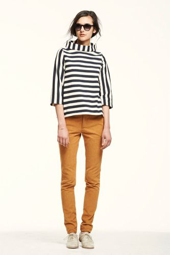 lauren moffatt fall 2012. Love the color combo and stripes.