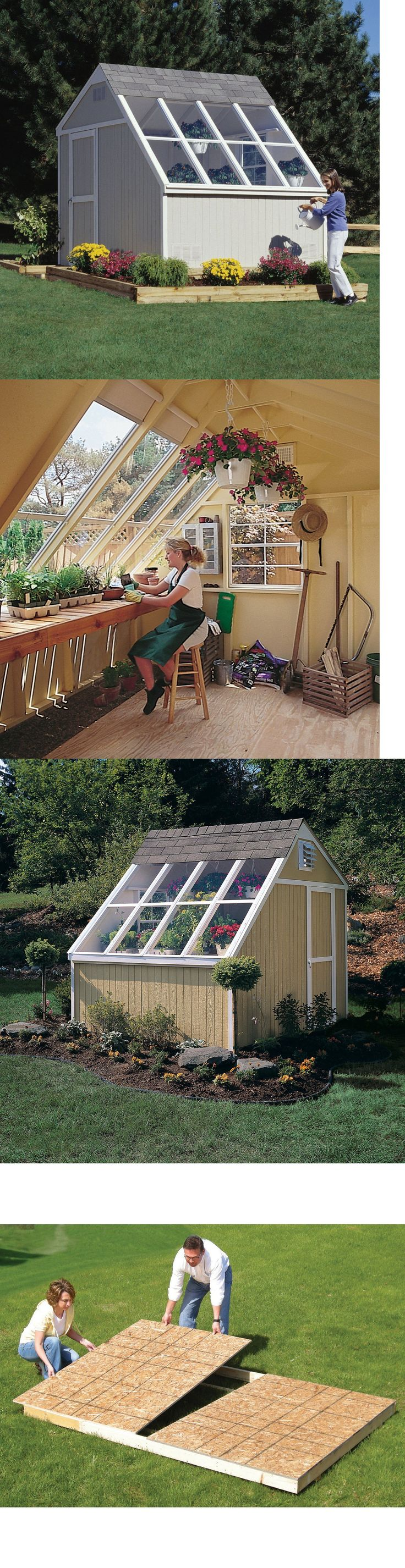 Garden and Storage Sheds 139956: Solariums Greenhouses For Sale Tool Potting Storage Shed Solar Flower Gardening -> BUY IT NOW ONLY: $3294.99 on eBay!