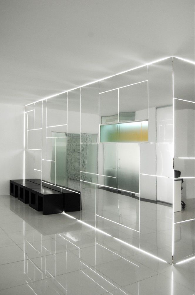 Genesis Technology Group | Project-BD Architects. #mirrors #led #light