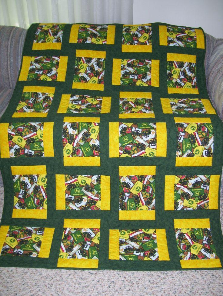 John Deere quilt for an avid collector Quilts