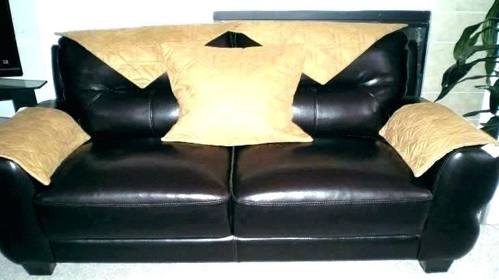 Foam Sofa Cushions Faux Leather Sofa Cushions On Sofa Sofa