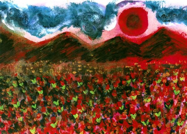 Strawberry Fields Painting - James Davis