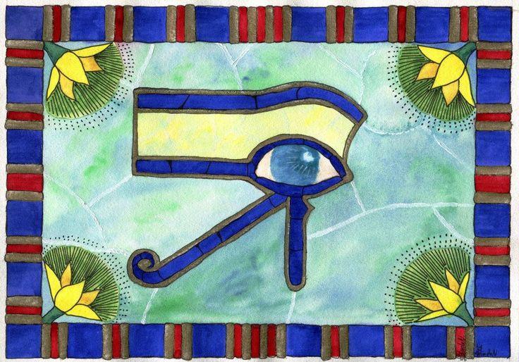 Akvarel egypt