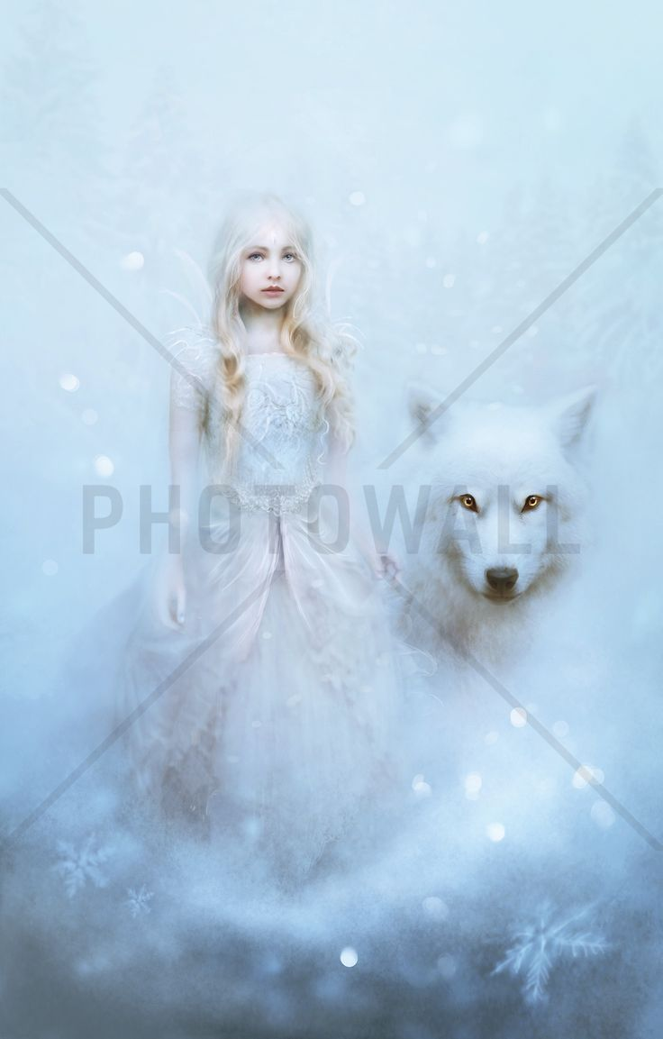 Snow Princess - Fototapeter