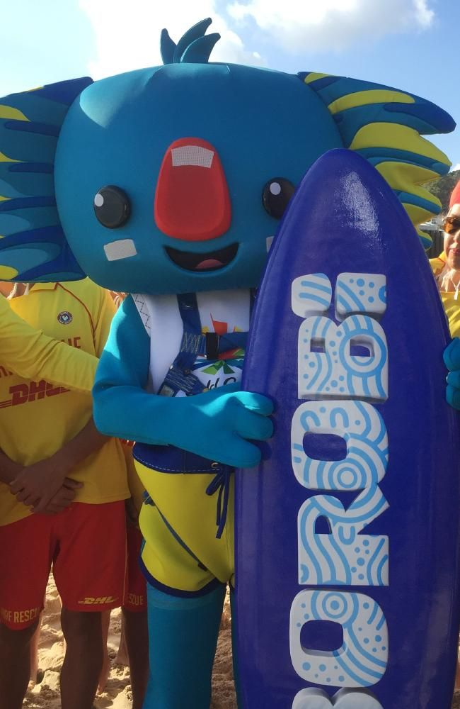 best gold coast commonwealth games ideas  borobi the koala is the gold coast commonwealth games mascot