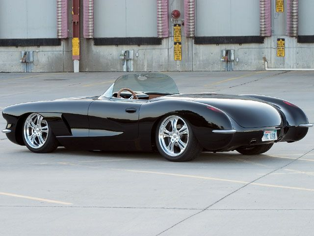 1960 Custom Convertible Corvette