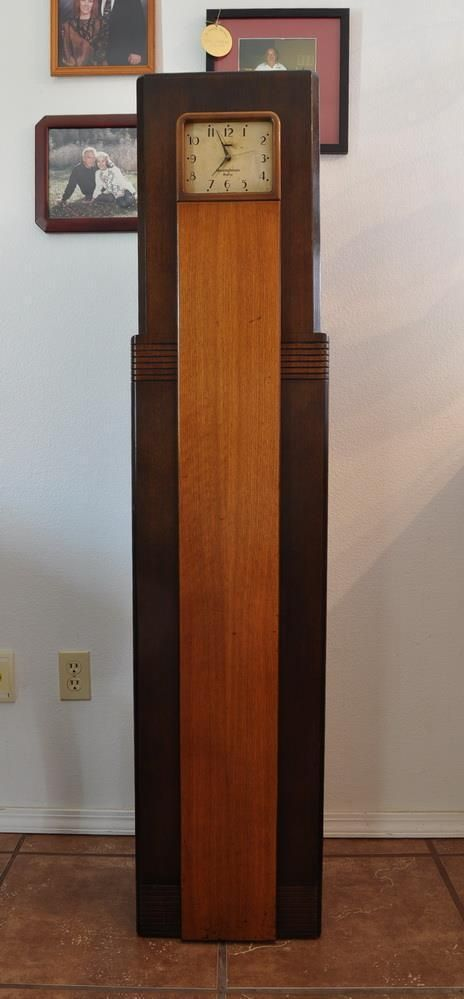 Westinghouse Wr 8 Columnaire Grandfather Clock Radio 1931