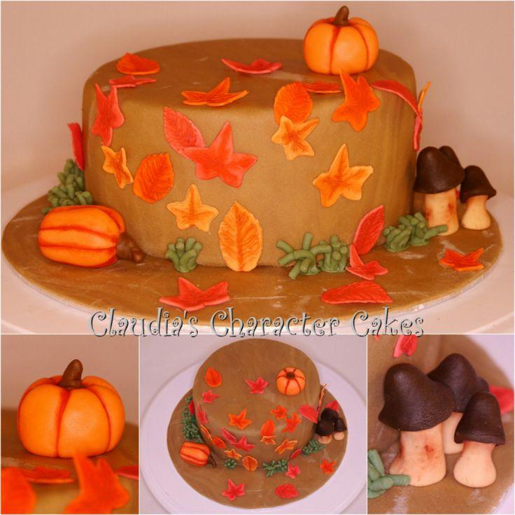 Herbst Torte | Autumn Cake