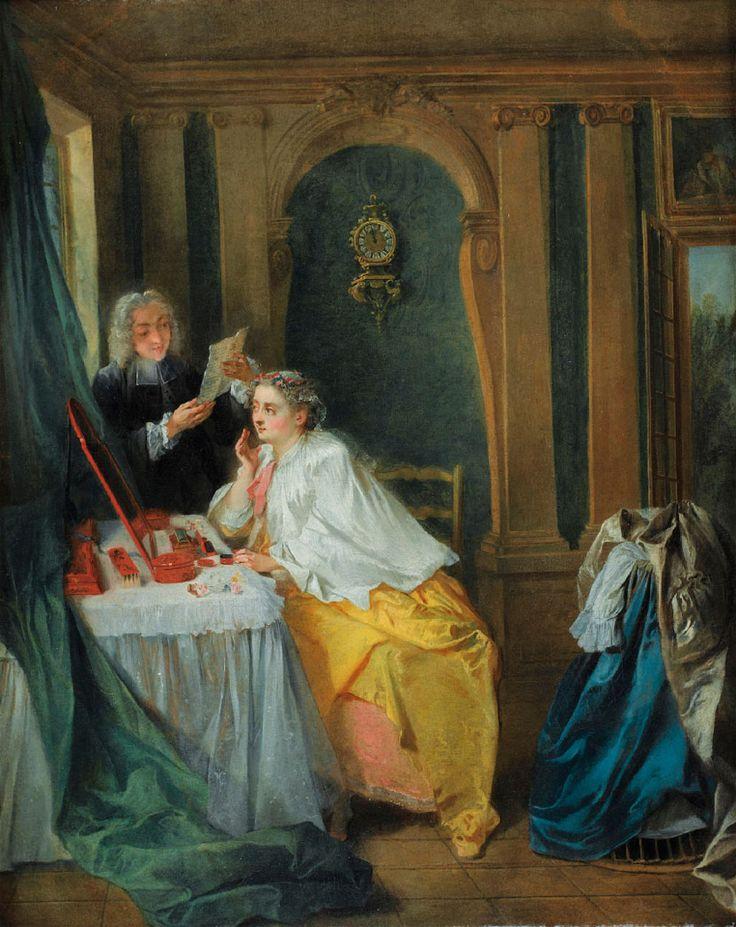 La toilette de madame Geoffrin, Nicolas Lancret