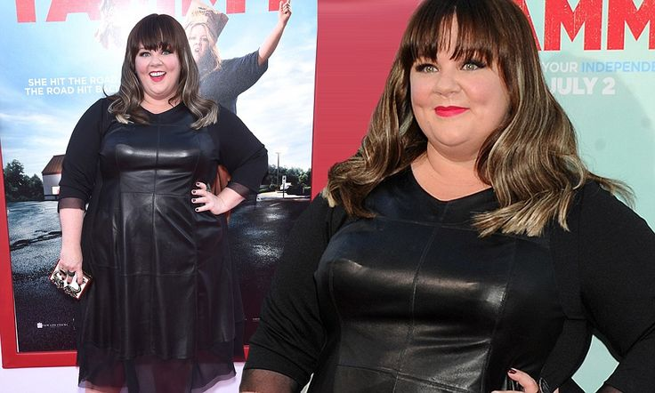 Melissa McCarthy is edgy chic at LA premiere of new film Tammy