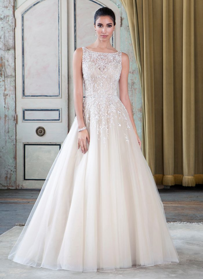 Vestido de Noiva Justin Alexander 9795