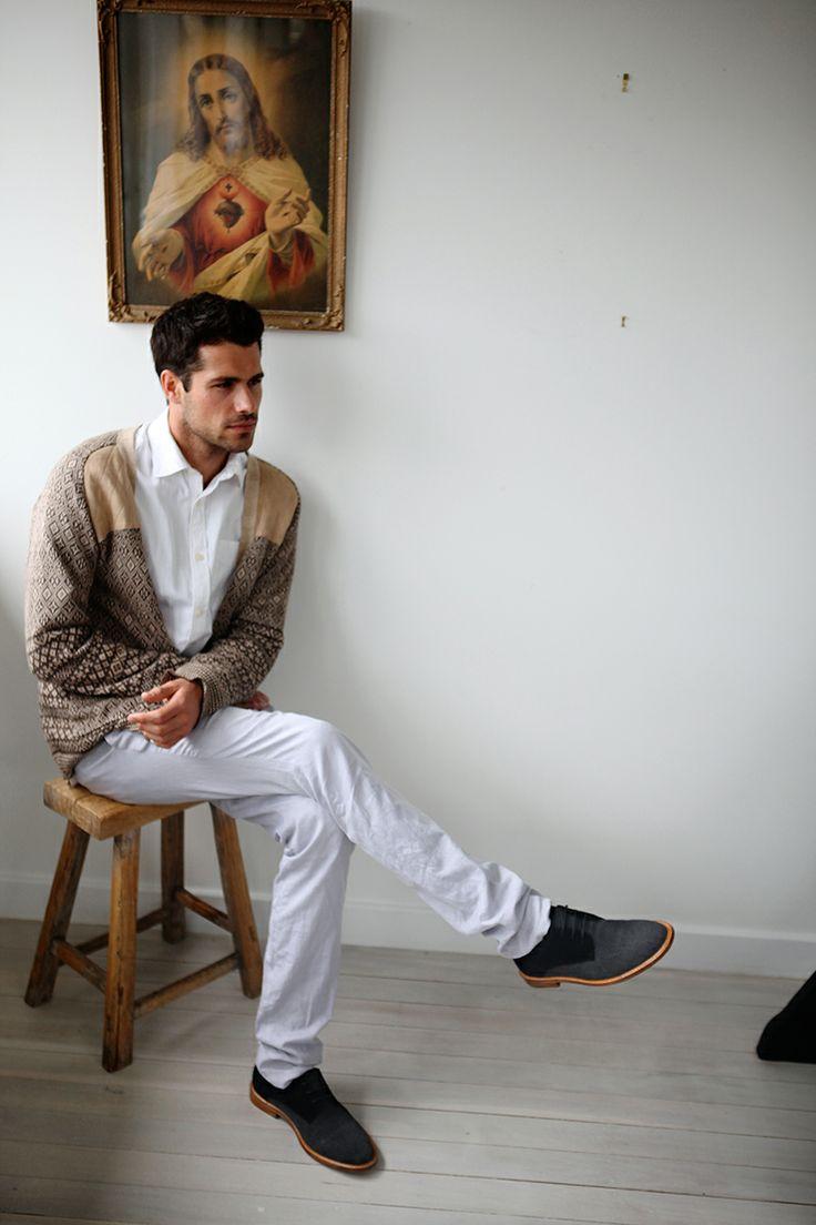 ::: BOGATA ::: Classic derby is back in a sweet suede-canvas mix. http://www.urgefootwear.com.au/mens-shoes-online/bogata-black-canvas