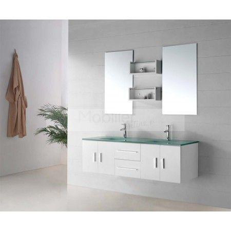 latout principal de cet ensemble de salle de bain sd9221 cest videmment - Vasque Salle De Bain Verre Trempe