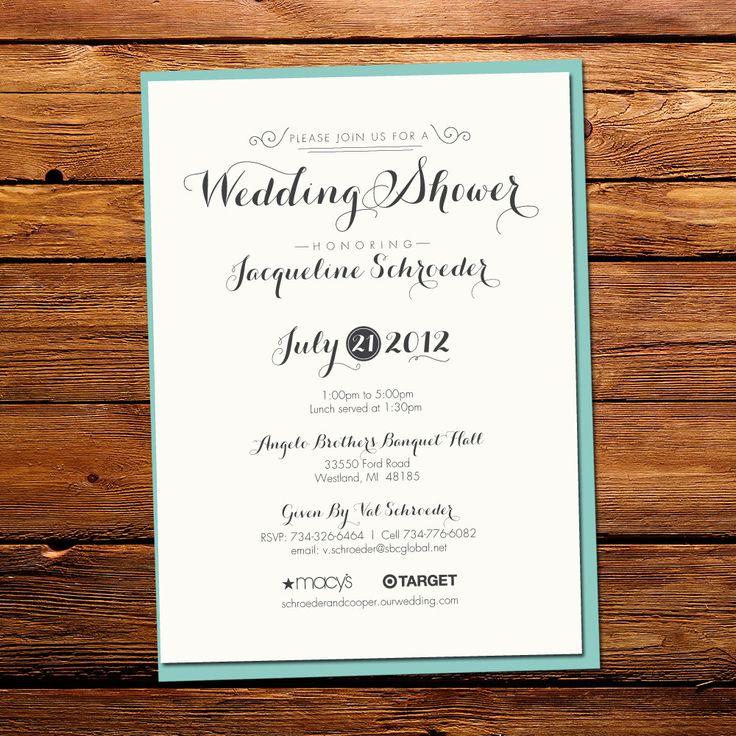 hindi poem for marriage invitation%0A Quirky Wedding Shower Invitation         via Etsy