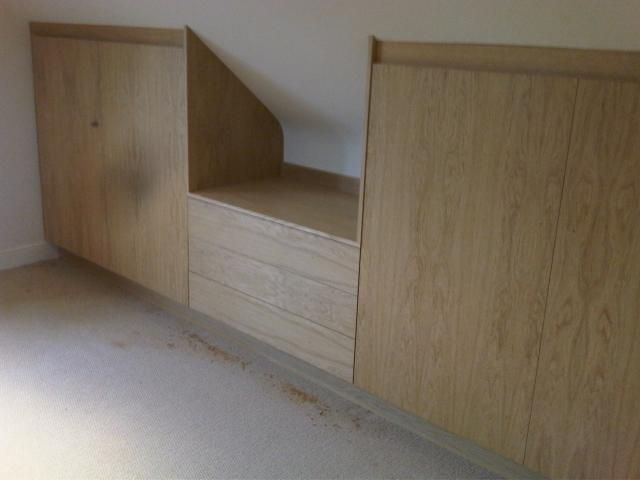 Built in eaves wardrobes for the home pinterest for Eaves bedroom ideas