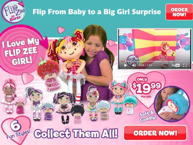 "Flip Zee Girls are dolls for girls that ""flip"" from a baby into big girl. Do they actually work? Read our Flip Zee Girls review."