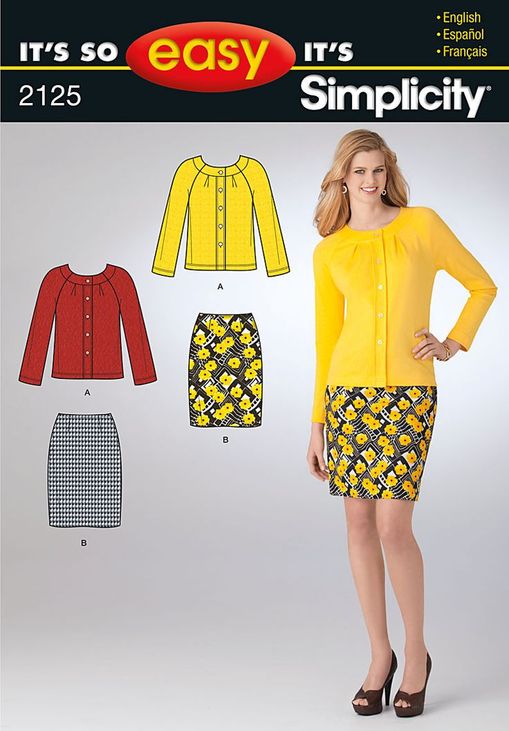 17 Best images about Sewing - Patterns for Knit Fabrics on Pinterest