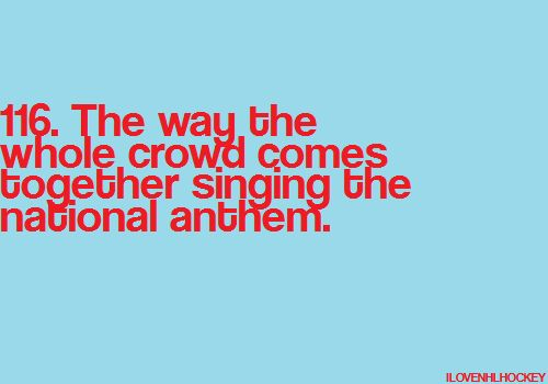 Especially with the pipe organ, and when Mr. Ray stops playing and the voices raise. #Patriotic