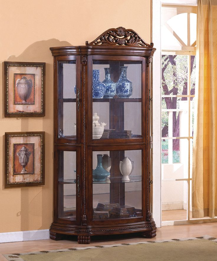 13 best Curio Cabinet images on Pinterest | Curio cabinets, China ...