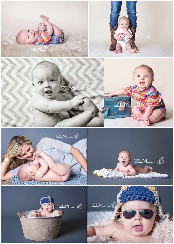 ZLM photography 6 month poses