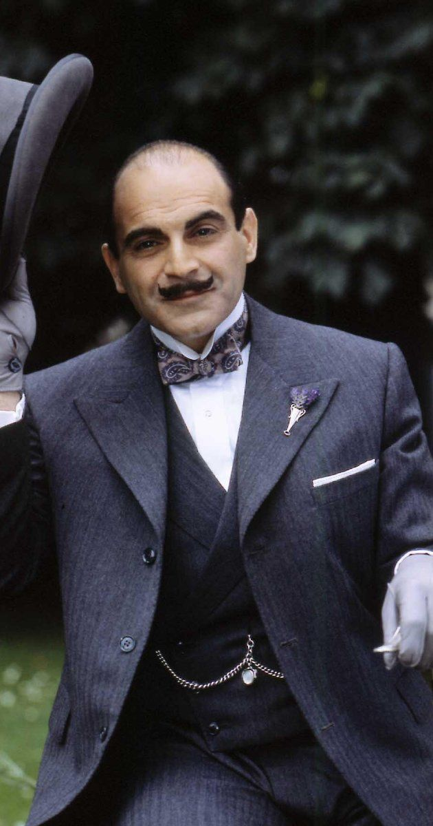 David Suchet. I have such a hard time separating him from Poirot. I see this photo and think, it's so sad Suchet died. But he didn't. !!