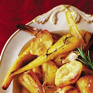 Roast parsnips with rosemary and garlic Recipe | delicious. Magazine free recipes
