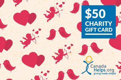 Spread the love this Valentine's Day by giving back with a CanadaHelps Charity Gift Card! Choose a card, select a value, pick a delivery date, and write a personal message for your lucky recipient who chooses the charity to give to. Visit www.CanadaHelps.org to order yours now!  #ValentinesDay #CanadaHelps #Charity