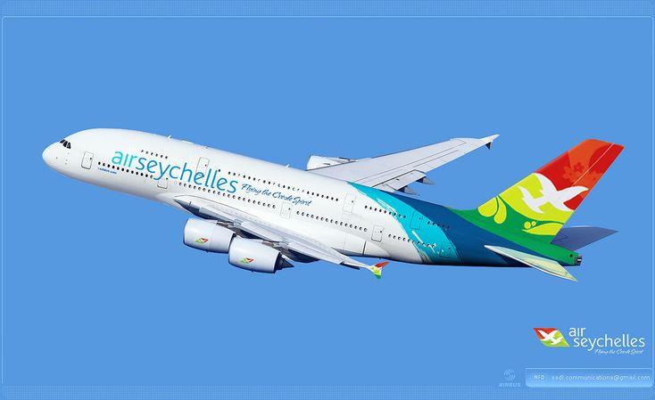 https://flic.kr/p/q7qNp7 | Air Seychelles Livery concept | Air Seychelles / Airbus A380 / Livery concept