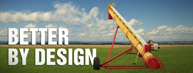 Westfield WR Series Grain Augers are better by design